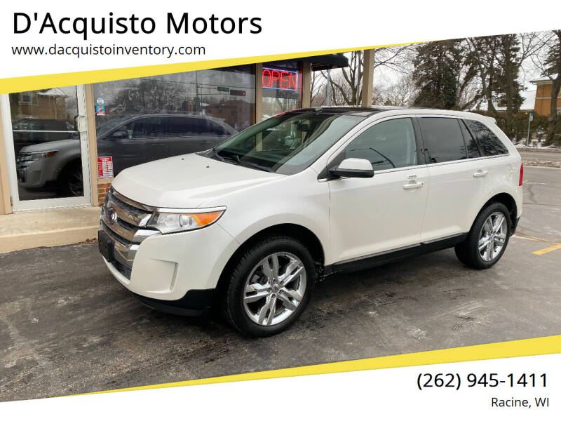 2013 Ford Edge for sale at D'Acquisto Motors in Racine WI