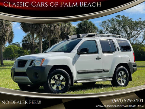 2012 Nissan Xterra for sale at Classic Cars of Palm Beach in Jupiter FL