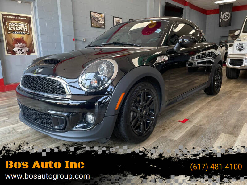 2015 MINI Coupe for sale at Bos Auto Inc in Quincy MA