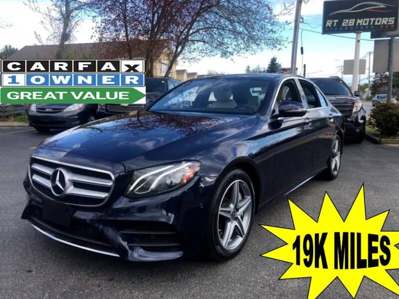 2018 Mercedes-Benz E-Class for sale at RT28 Motors in North Reading MA