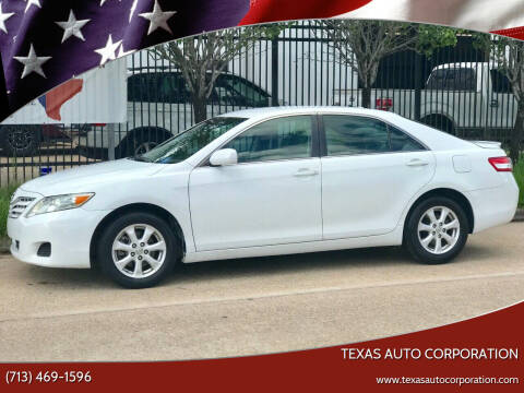 2011 Toyota Camry for sale at Texas Auto Corporation in Houston TX