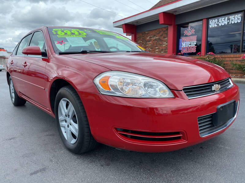 2008 Chevrolet Impala for sale at Premium Motors in Louisville KY