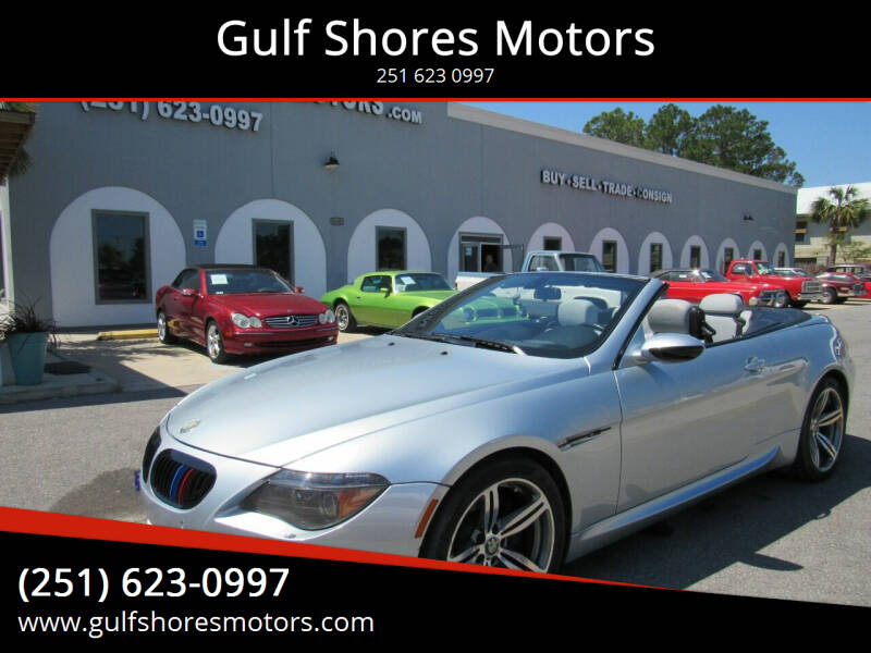 2007 BMW M6 for sale at Gulf Shores Motors in Gulf Shores AL