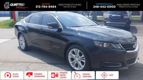2014 Chevrolet Impala for sale at Quattro Motors 2 - 1 in Redford MI