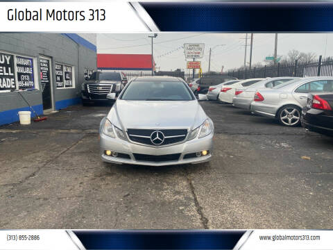 2011 Mercedes-Benz E-Class for sale at Global Motors 313 in Detroit MI