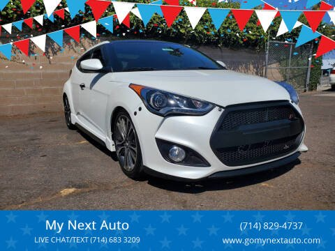 2016 Hyundai Veloster for sale at My Next Auto in Anaheim CA