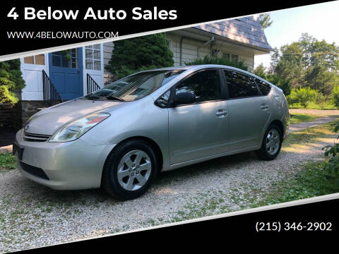 2005 Toyota Prius for sale at 4 Below Auto Sales in Willow Grove PA