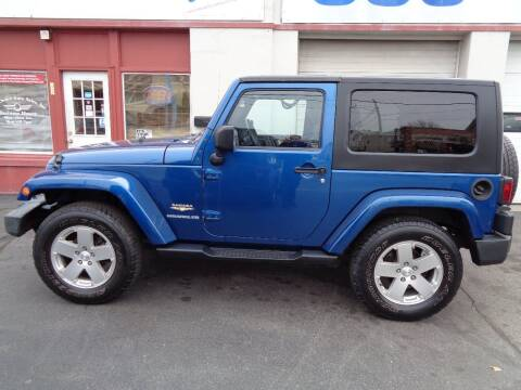 2010 Jeep Wrangler for sale at Best Choice Auto Sales Inc in New Bedford MA