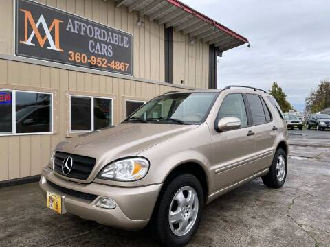 2003 Mercedes-Benz M-Class for sale at M & A Affordable Cars in Vancouver WA