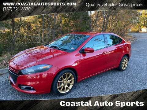 2013 Dodge Dart for sale at Coastal Auto Sports in Chesapeake VA