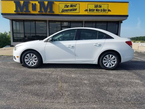 2011 Chevrolet Cruze for sale at MnM The Next Generation in Jefferson City MO