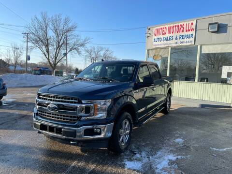 2018 Ford F-150 for sale at United Motors LLC in Saint Francis WI