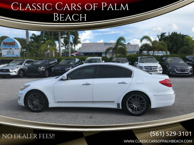 2014 Hyundai Genesis for sale at Classic Cars of Palm Beach in Jupiter FL