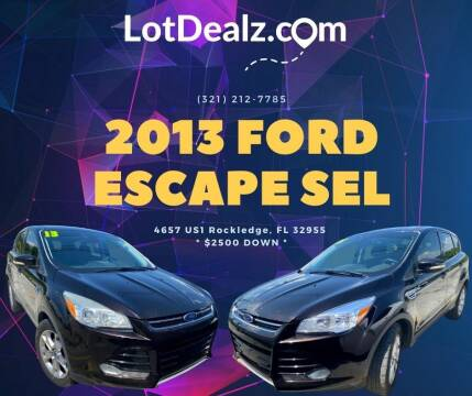 2013 Ford Escape for sale at ROCKLEDGE in Rockledge FL