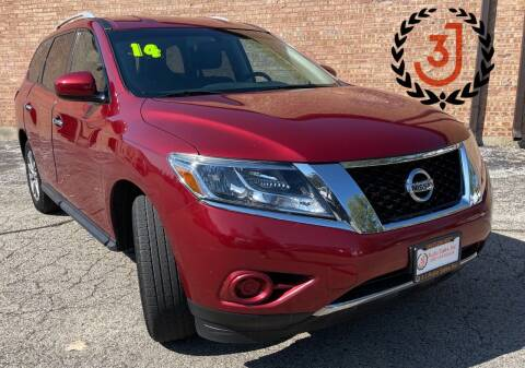 2014 Nissan Pathfinder for sale at 3 J Auto Sales Inc in Arlington Heights IL