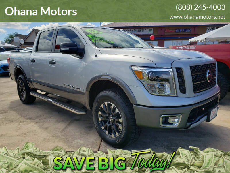 2019 Nissan Titan for sale at Ohana Motors in Lihue HI