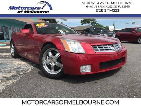2005 Cadillac XLR for sale at Motorcars of Melbourne in Rockledge FL