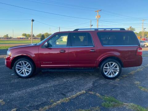 2017 Ford Expedition EL for sale at Diede's Used Cars in Canistota SD