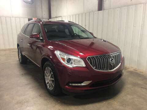 2017 Buick Enclave for sale at Matt Jones Motorsports in Cartersville GA