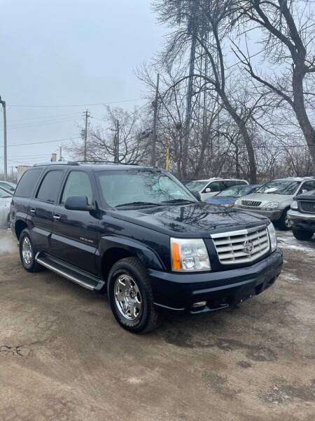 2003 Cadillac Escalade for sale at Big Bills in Milwaukee WI