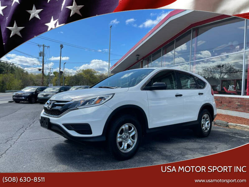 2015 Honda CR-V for sale at USA Motor Sport inc in Marlborough MA