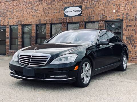 2011 Mercedes-Benz S-Class for sale at Supreme Carriage in Wauconda IL