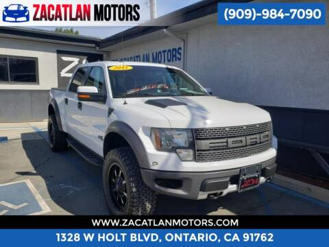 2011 Ford F-150 for sale at Ontario Auto Square in Ontario CA