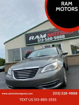 2012 Chrysler 200 for sale at RAM MOTORS in Cincinnati OH