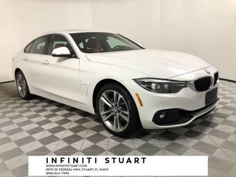 2019 BMW 4 Series for sale at Infiniti Stuart in Stuart FL