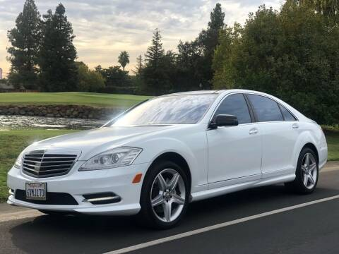 2010 Mercedes-Benz S-Class for sale at SHOMAN MOTORS in Davis CA