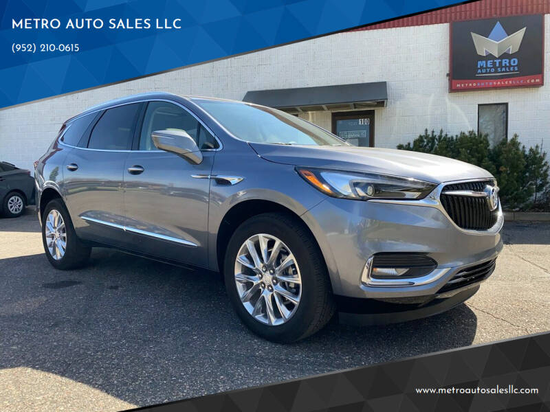 2020 Buick Enclave for sale at METRO AUTO SALES LLC in Blaine MN