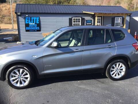 2014 BMW X3 for sale at Elite Auto Brokers in Lenoir NC
