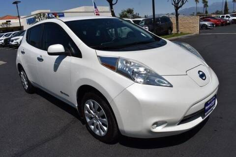 2015 Nissan LEAF for sale at DIAMOND VALLEY HONDA in Hemet CA