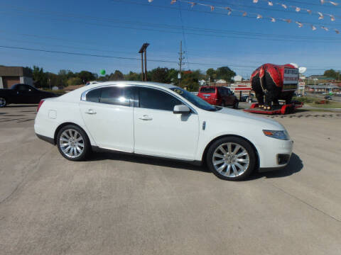 2009 Lincoln MKS for sale at BLACKWELL MOTORS INC in Farmington MO