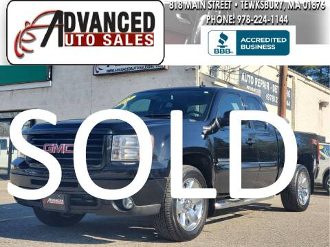 2012 GMC Sierra 1500 for sale at Advanced Auto Sales in Tewksbury MA