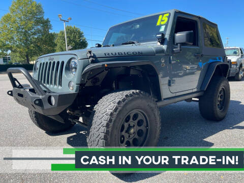 2015 Jeep Wrangler for sale at Premier Auto Brokers in Virginia Beach VA
