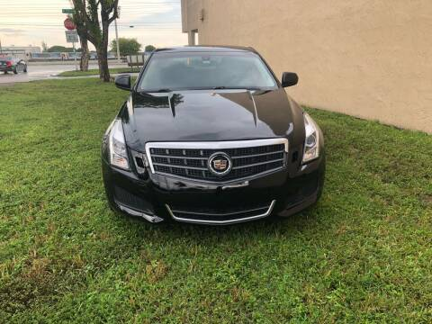 2013 Cadillac ATS for sale at Auto Credit & Finance Corp. in Miami FL