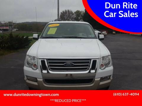 2006 Ford Explorer for sale at Dun Rite Car Sales in Downingtown PA