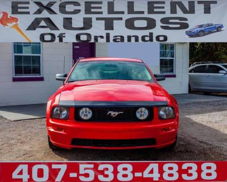 2005 Ford Mustang for sale at Excellent Autos of Orlando in Orlando FL