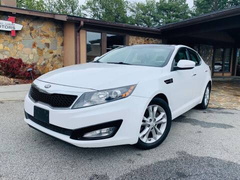 2013 Kia Optima for sale at Classic Luxury Motors in Buford GA