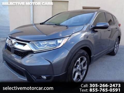 2018 Honda CR-V for sale at Selective Motor Cars in Miami FL
