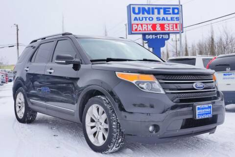 2012 Ford Explorer for sale at United Auto Sales in Anchorage AK