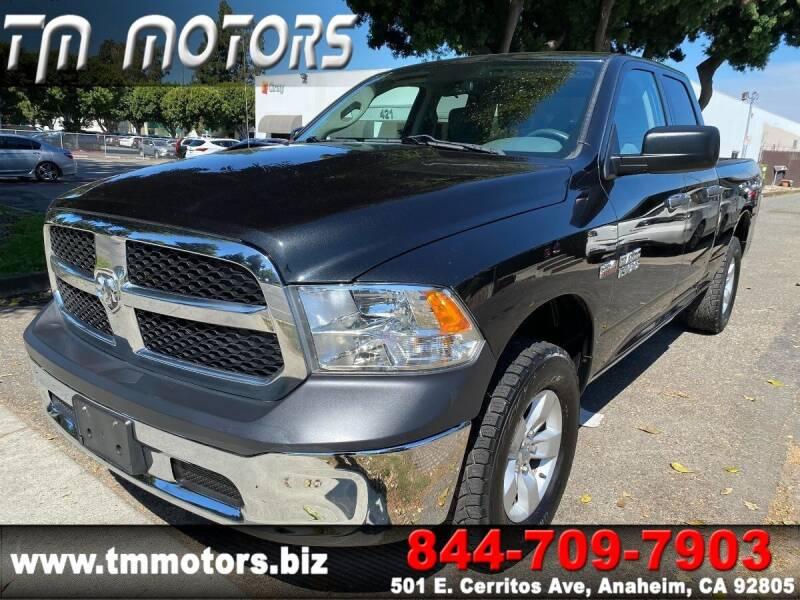 2015 RAM Ram Pickup 1500 for sale at TM Motors in Anaheim CA
