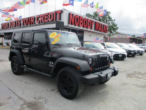 2009 Jeep Wrangler Unlimited for sale at Giant Auto Mart 2 in Houston TX