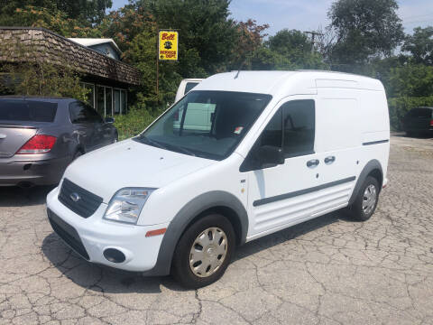 2011 Ford Transit Connect for sale at BELL AUTO & TRUCK SALES in Fort Wayne IN