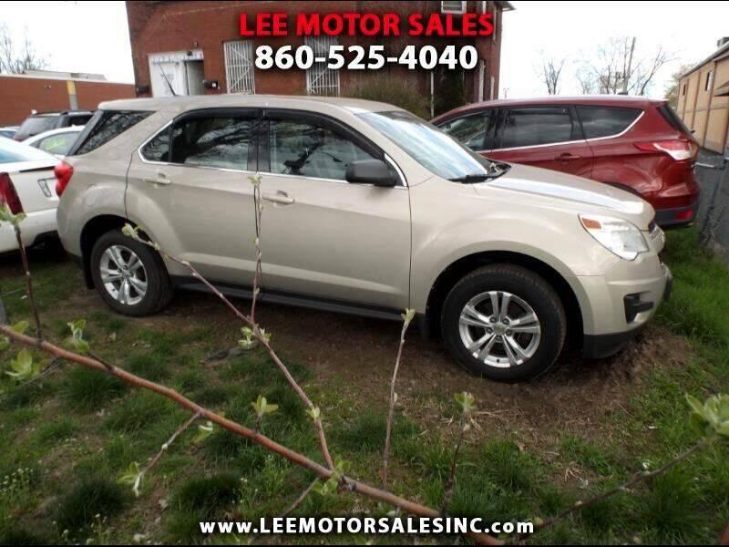 2011 Chevrolet Equinox for sale at Lee Motor Sales Inc. in Hartford CT