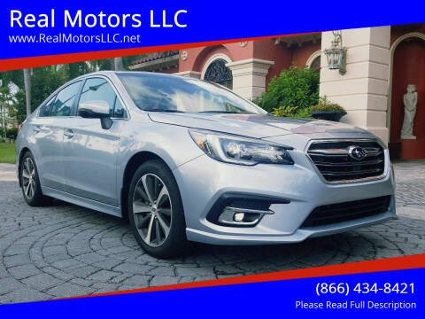 2019 Subaru Legacy for sale at Real Motors LLC in Clearwater FL