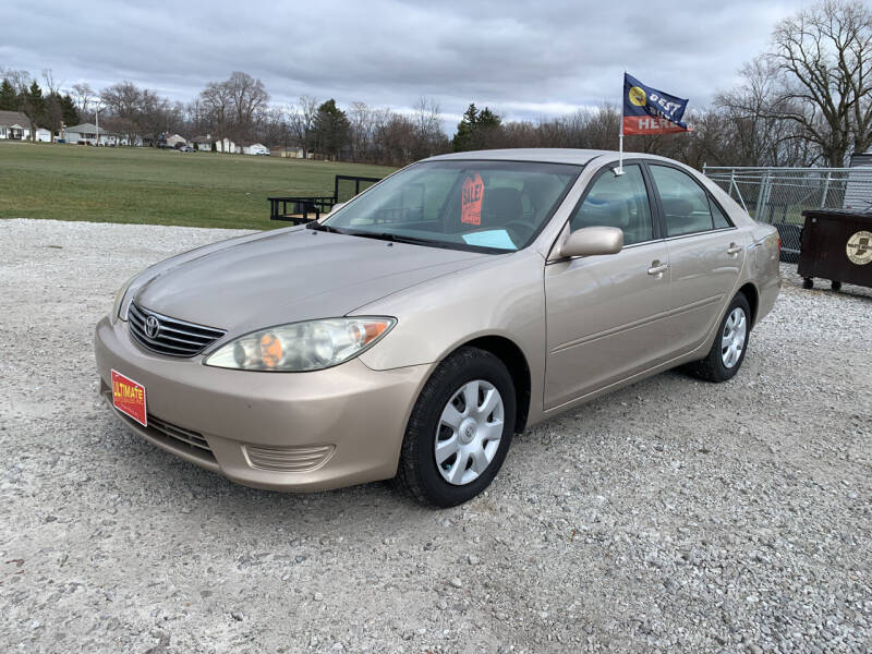 2006 Toyota Camry for sale at Ultimate Auto Sales in Crown Point IN