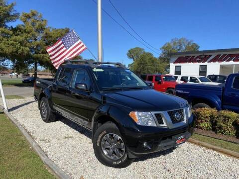 2017 Nissan Frontier for sale at Beach Auto Brokers in Norfolk VA