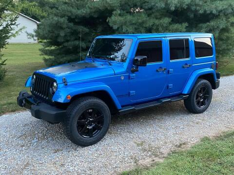 2014 Jeep Wrangler Unlimited for sale at Ryans Auto Sales in Muncie IN